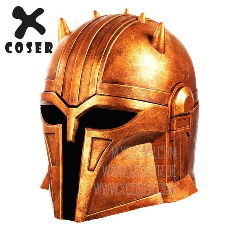 Xcoser Star Wars Mandalorian Blacksmith the Armorer Cosplay Helmet 1:1 Replica Resin/latex Presale - 8