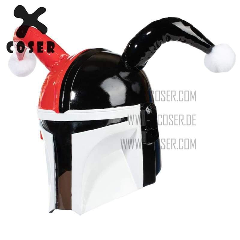 Xcoser Star Wars Mandalorian X Harley Quinn Original Design Cosplay Helmet Mix Color - 3