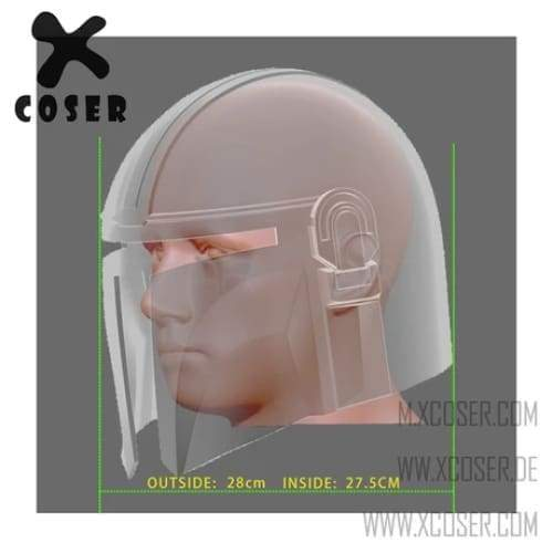 Xcoser Star Wars Mandalorian X Harley Quinn Original Design Cosplay Helmet Mix Color - 9