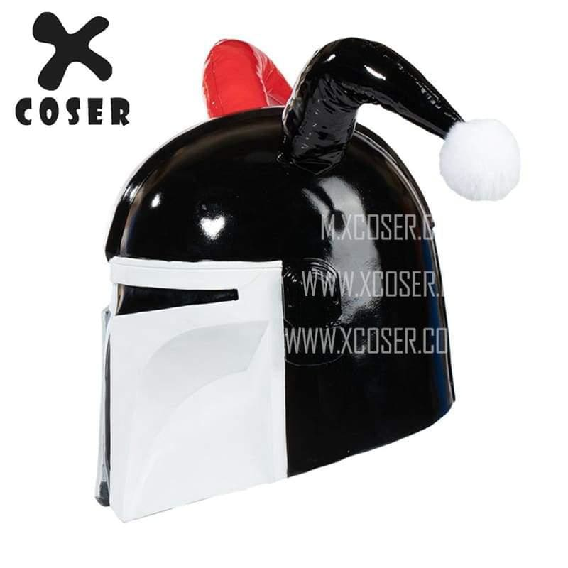 Xcoser Star Wars Mandalorian X Harley Quinn Original Design Cosplay Helmet Mix Color - 4