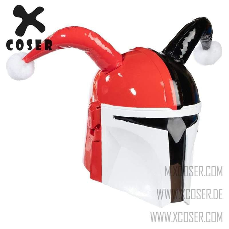 Xcoser Star Wars Mandalorian X Harley Quinn Original Design Cosplay Helmet Mix Color - 2