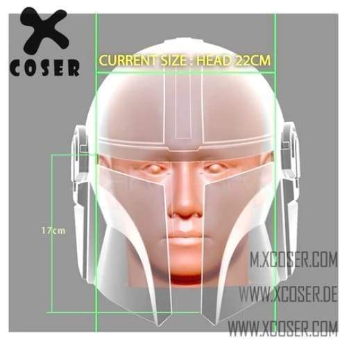 Xcoser Star Wars Mandalorian X Harley Quinn Original Design Cosplay Helmet Mix Color - 8