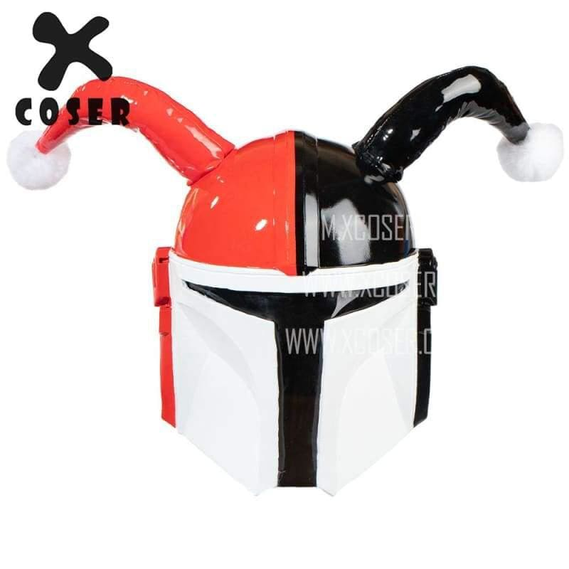 Xcoser Star Wars Mandalorian X Harley Quinn Original Design Cosplay Helmet Mix Color - 1