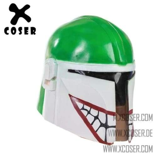 Xcoser Star Wars Mandalorian X Joker Original Design Cosplay Helmet Mix Color - 3