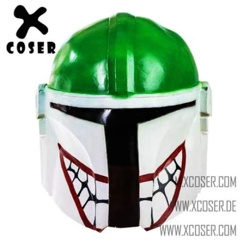 Xcoser Star Wars Mandalorian X Joker Original Design Cosplay Helmet Mix Color - 2