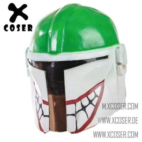 Xcoser Star Wars Mandalorian X Joker Original Design Cosplay Helmet Mix Color - 1