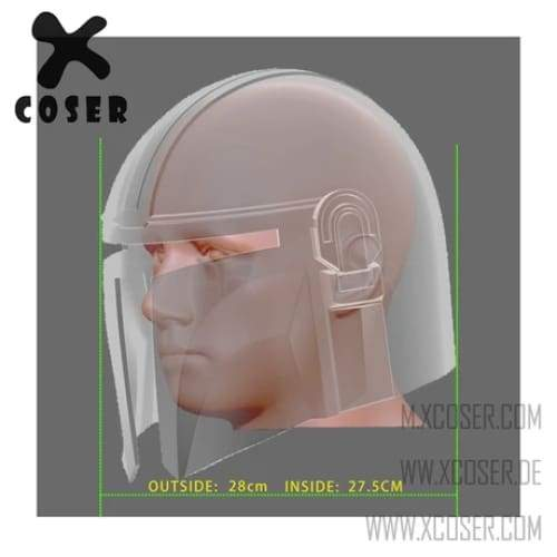 Xcoser Star Wars Mandalorian X Joker Original Design Cosplay Helmet Mix Color - 8