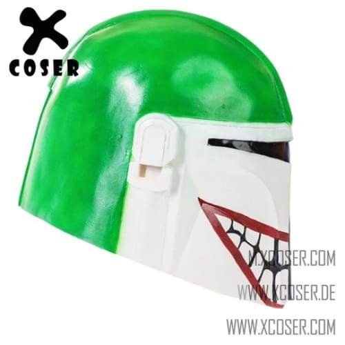 Xcoser Star Wars Mandalorian X Joker Original Design Cosplay Helmet Mix Color - 5