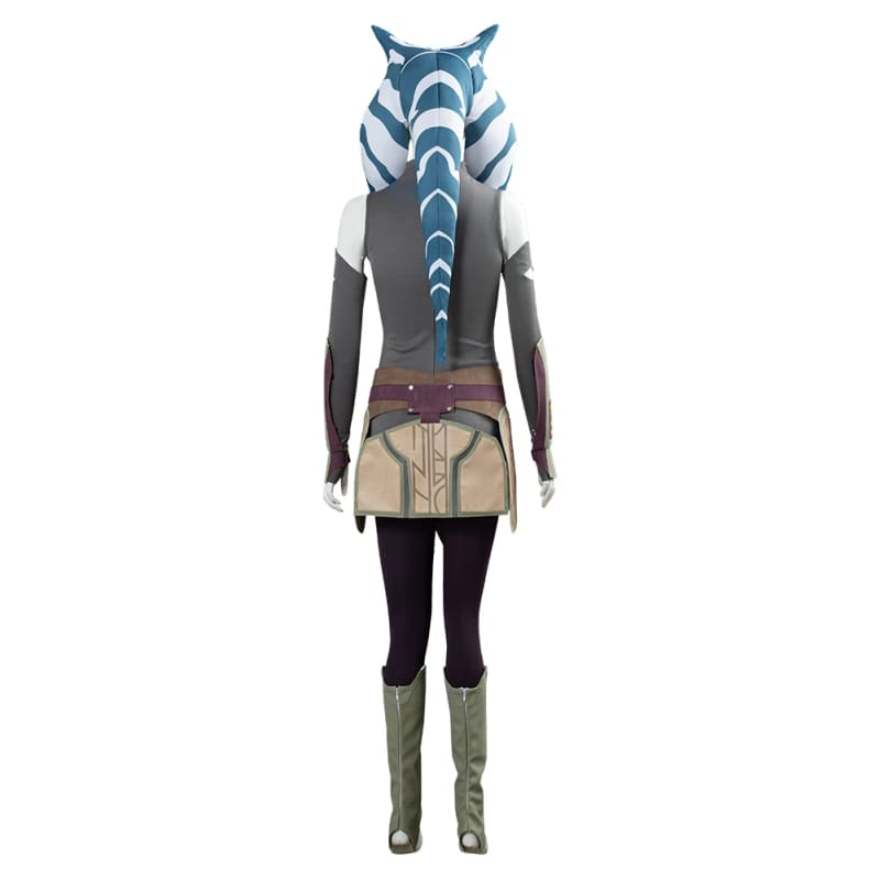 Xcoser Star Wars Rebels Ahsoka Tano Unisex Cosplay Costume - 4
