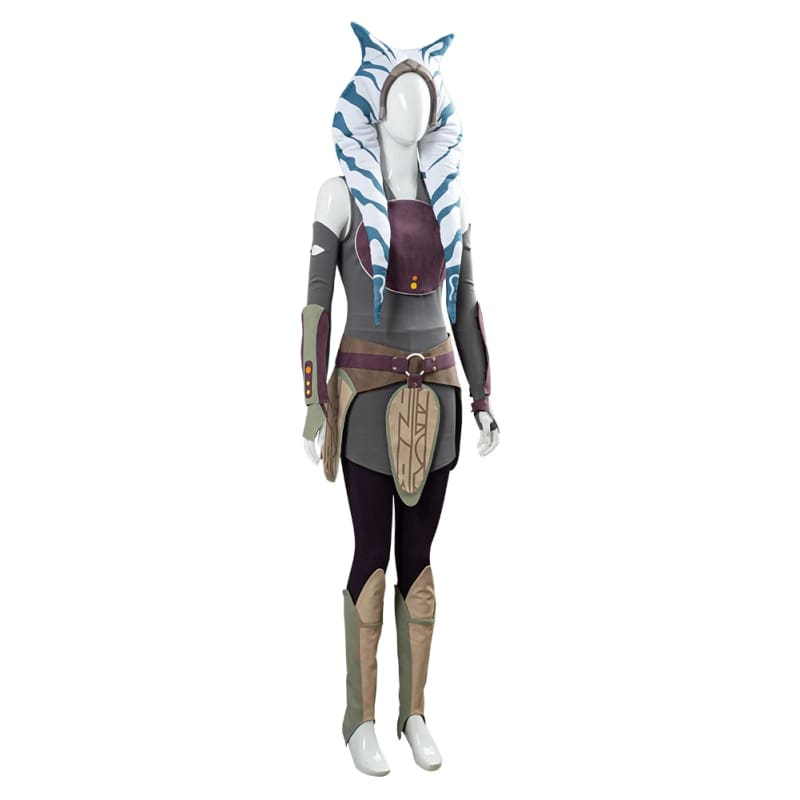 Xcoser Star Wars Rebels Ahsoka Tano Unisex Cosplay Costume - 5