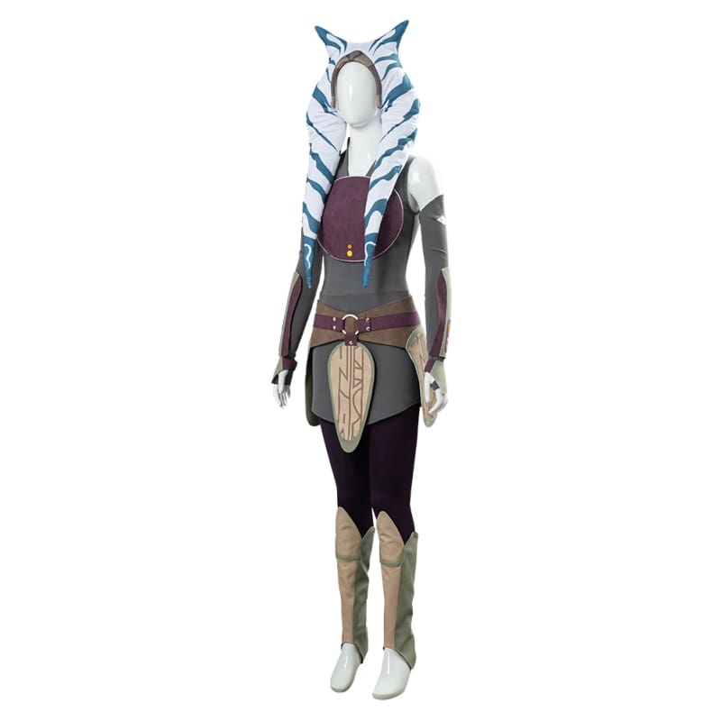 Xcoser Star Wars Rebels Ahsoka Tano Unisex Cosplay Costume - 6