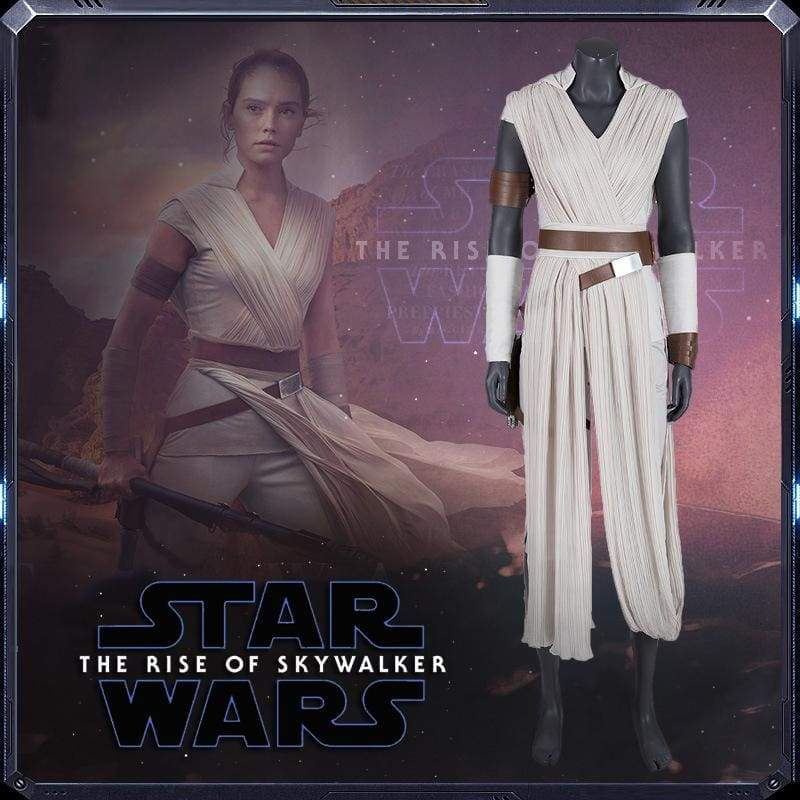 xcoser-de,Xcoser Star Wars: The Rise of Skywalker Rey Cosplay Kostüm,Kostüm
