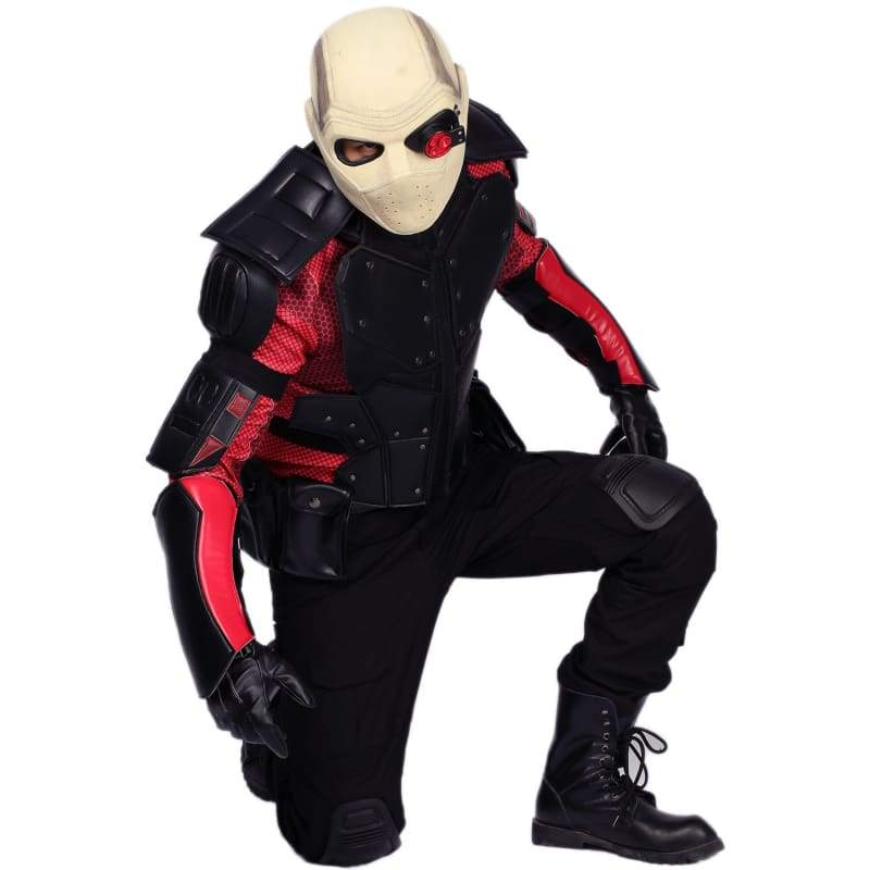 xcoser-de,Xcoser Suicide Squad Deadshot Cool Outfit Deadshot Cosplay Costume,Costumes