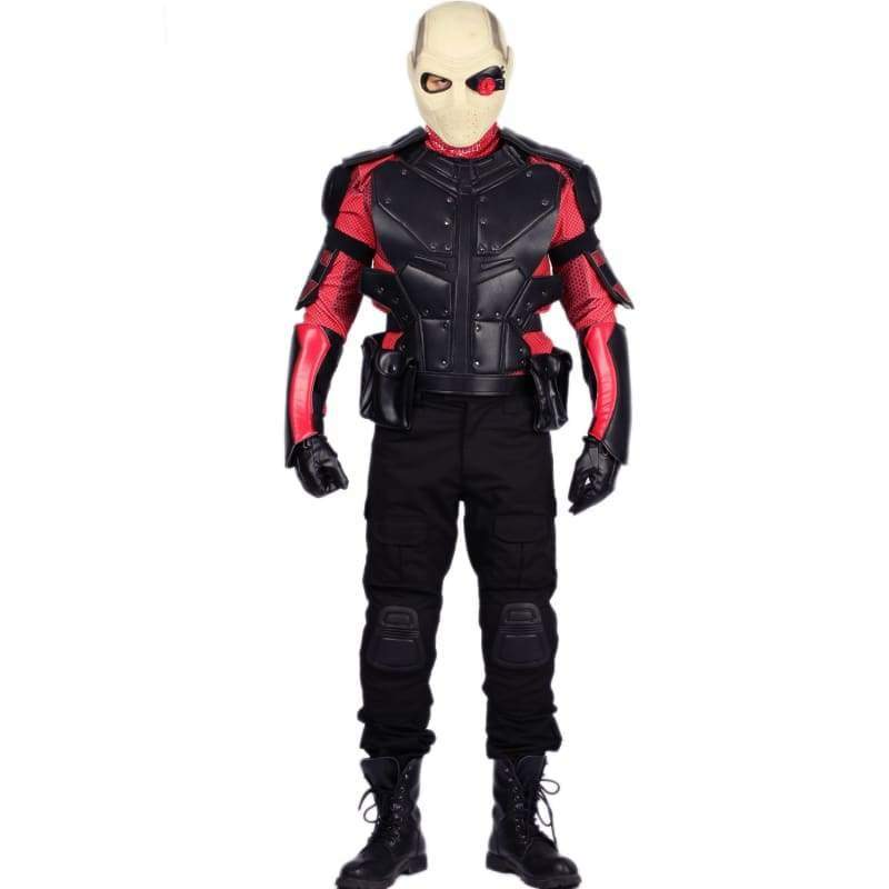 xcoser-de,Xcoser Suicide Squad Deadshot Cool Outfit Deadshot Cosplay Costume(Only For the United States),Costumes