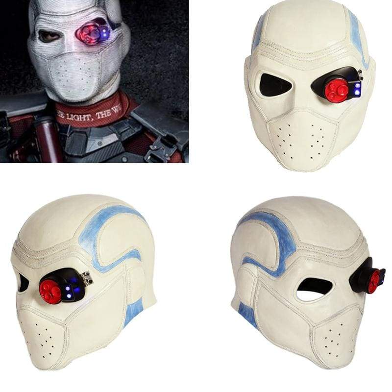 xcoser-de,Xcoser Suicide Squad Deadshot Cosplay Mask(Only For the United States),Helmet