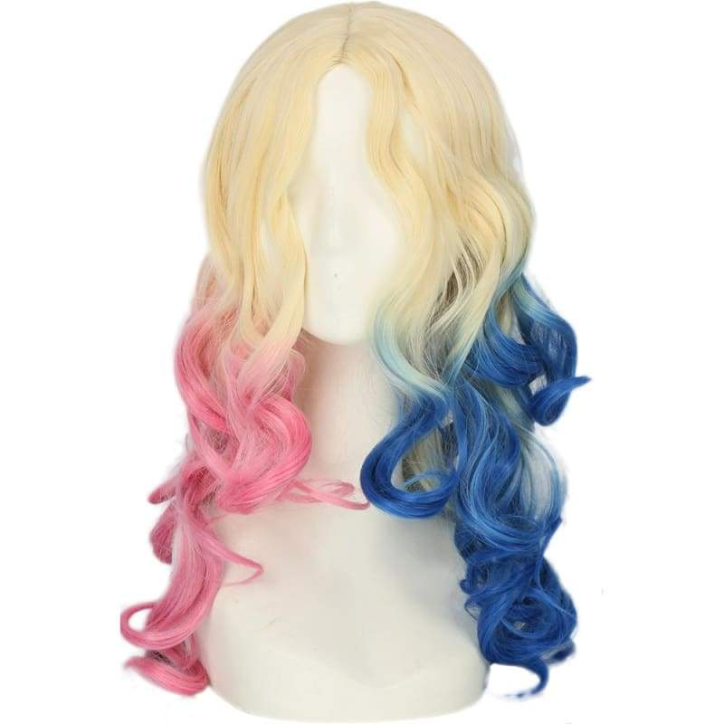 xcoser-de,XCOSER Suicide Squad Harley  Quinn Cosplay Accessories Halloween Party,Wigs