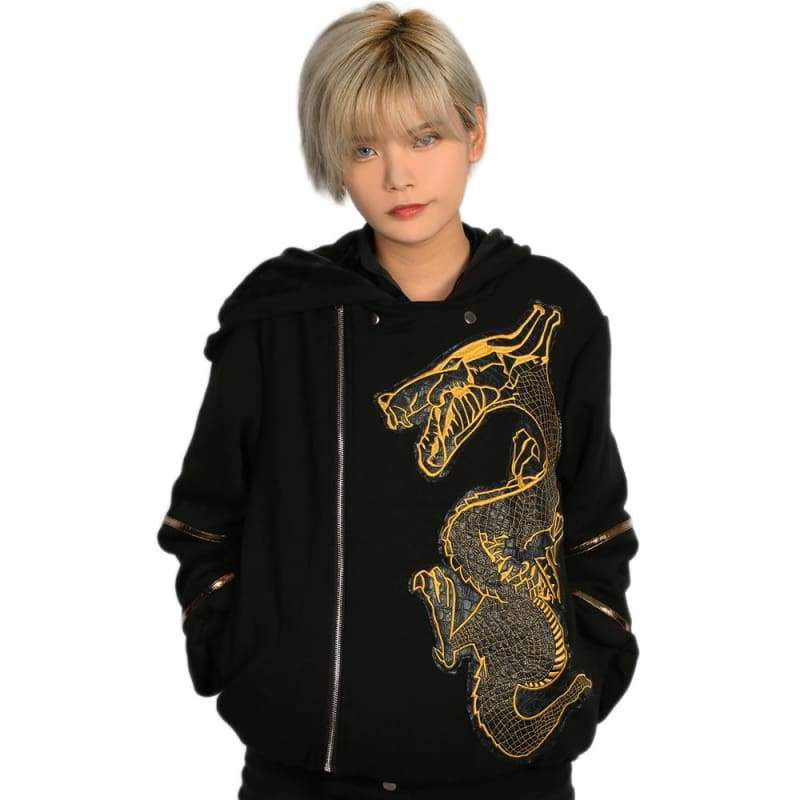 xcoser-de,Xcoser Suicide Squad Killer Croc Hoodie Black Cotton Hoodie Killer Croc Cosplay Costume,Hoodies
