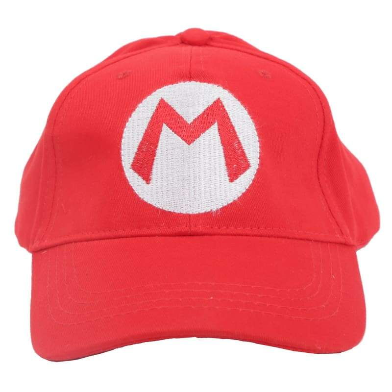 xcoser-de,Xcoser Super Mario Hat Unisex Cap Cosplay Props (Only for US),Hats