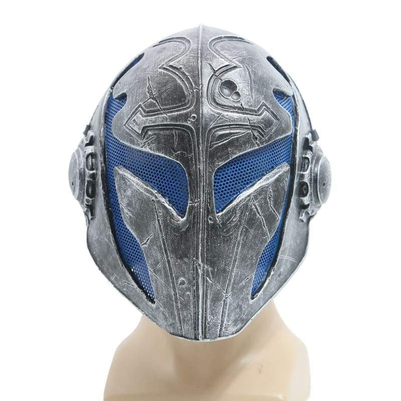 xcoser-de,XCOSER Templar Mask Airsoft Wire Mesh Knights Templar Resin Black Mask(Only For the United States),Helmet