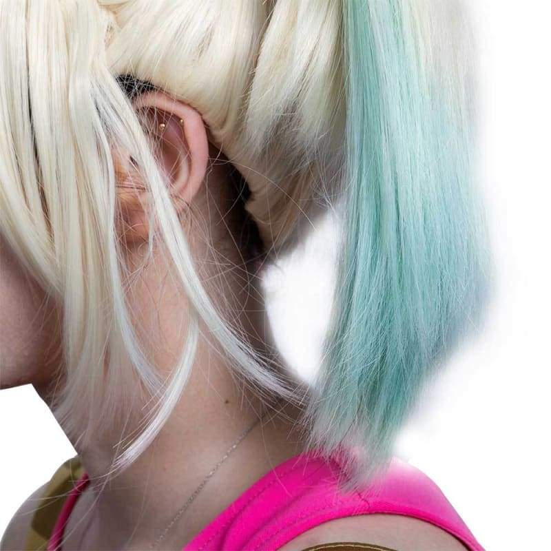 xcoser-de,Xcoser - The Birds of Prey: The Emancipation of Harley Quinn 2020 - Cosplay Perücke für Damen,Wigs