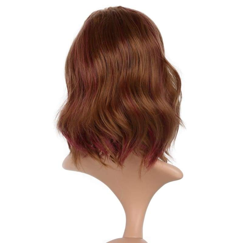 xcoser-de,Xcoser The Flash Magenta Cosplay Wig Charming Big Wavy Faux Hair For Women Cosplay,Wigs
