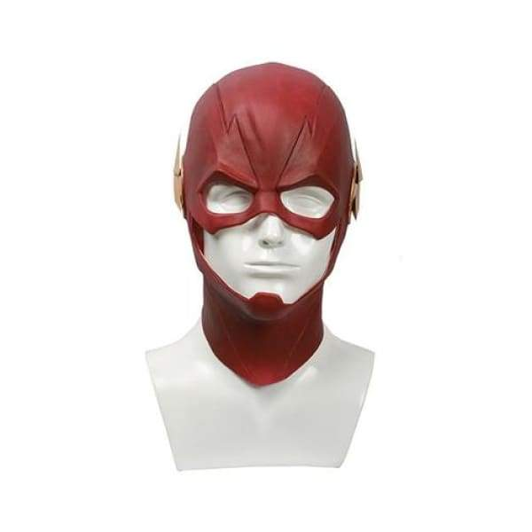 xcoser-de,Xcoser The Flash Red Latex Fullhead Helmet Movie Cosplay Mask(Only For the United States),Mask