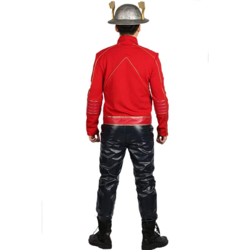 xcoser-de - Xcoser The Flash Season 2 Jay Garrick Costume for Cosplay and Halloween - Costumes - Xcoser Costume