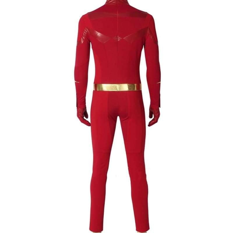 xcoser-de,XCOSER The Flash Season 5 Barry Allen Costume Halloween Cosplay Costume,Costumes