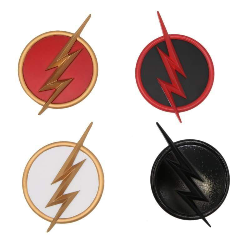 xcoser-de,Xcoser The Flash Series Logo Badge Accessory Set of 4pcs(Only For the United States),Props
