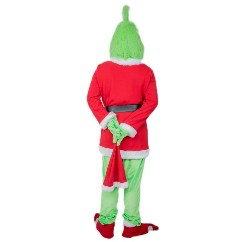 xcoser-de,Xcoser The Grinch 2018 Movie Cosplay Full Set of Costume,Costumes