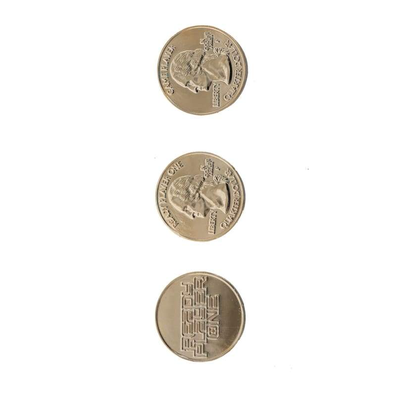 xcoser-de,XCOSER The Hot & Newest Movie Ready Player One Cosplay Extra Life Coin In Three Types Cosplay Props,Props