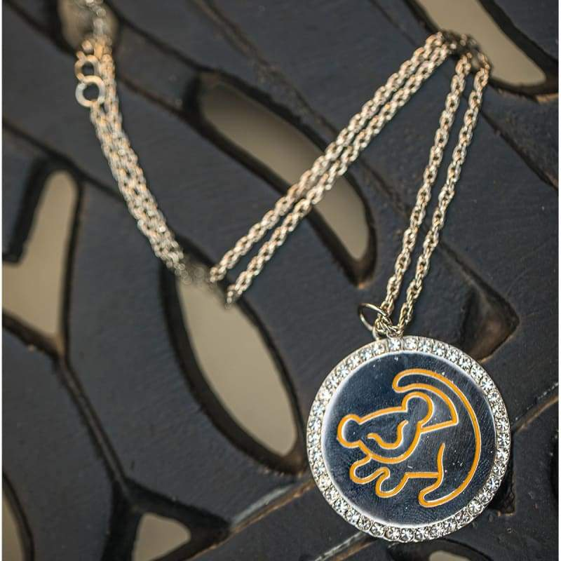 xcoser-de,XCOSER The Lion King Simba Necklace Pendant Cosplay Accessory,Jewelry