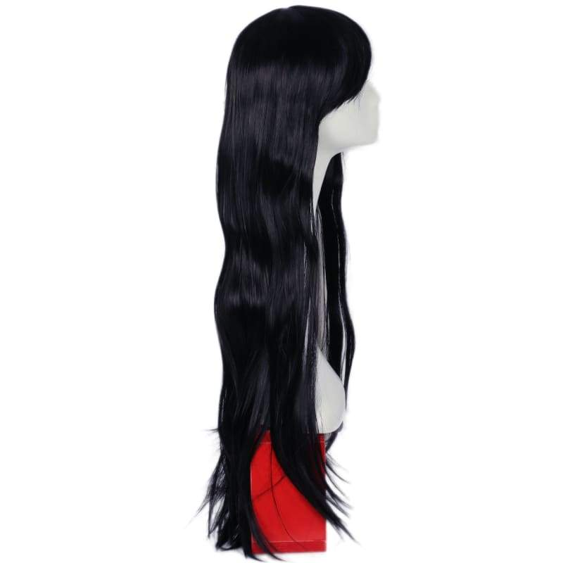 xcoser-de,Xcoser The Mummy Wig Black Black Ultra-long Straight Hair The Mummy Cosplay Wig,Wigs