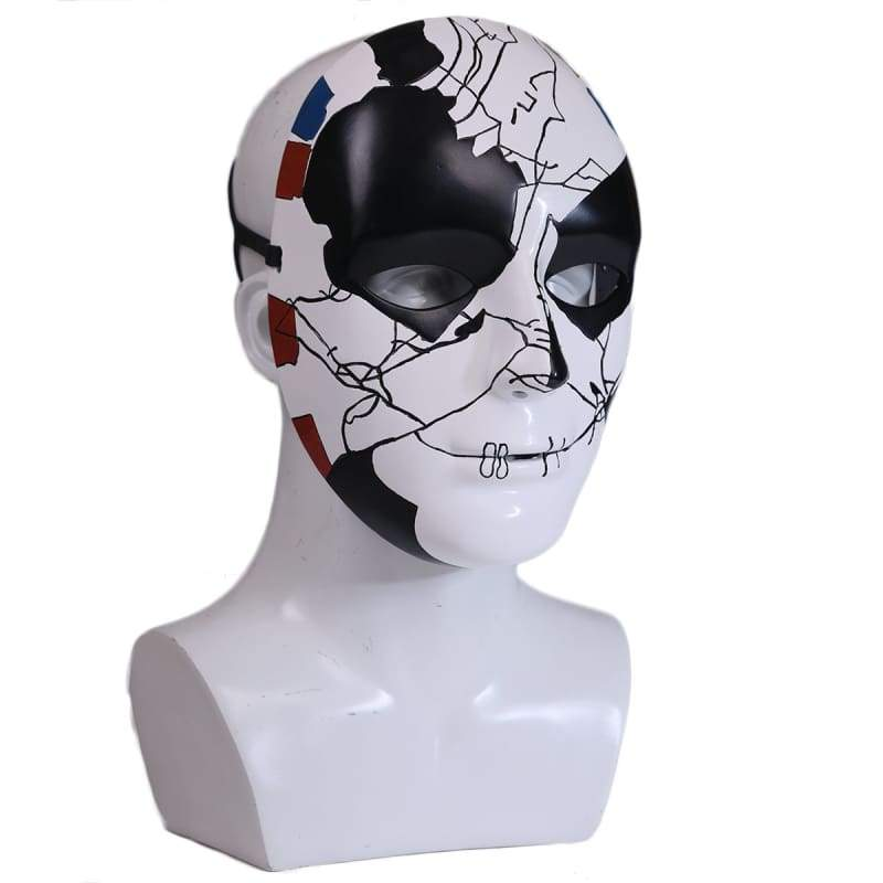 xcoser-de,XCOSER The Punisher Season 2 Billy Russo Mask Cosplay Accessory,Mask