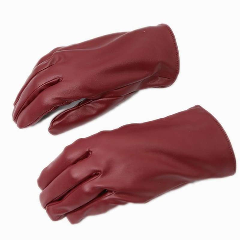 xcoser-de - Xcoser The Red PU Gloves The Flash Cosplay Accessories - Props - Xcoser Shop