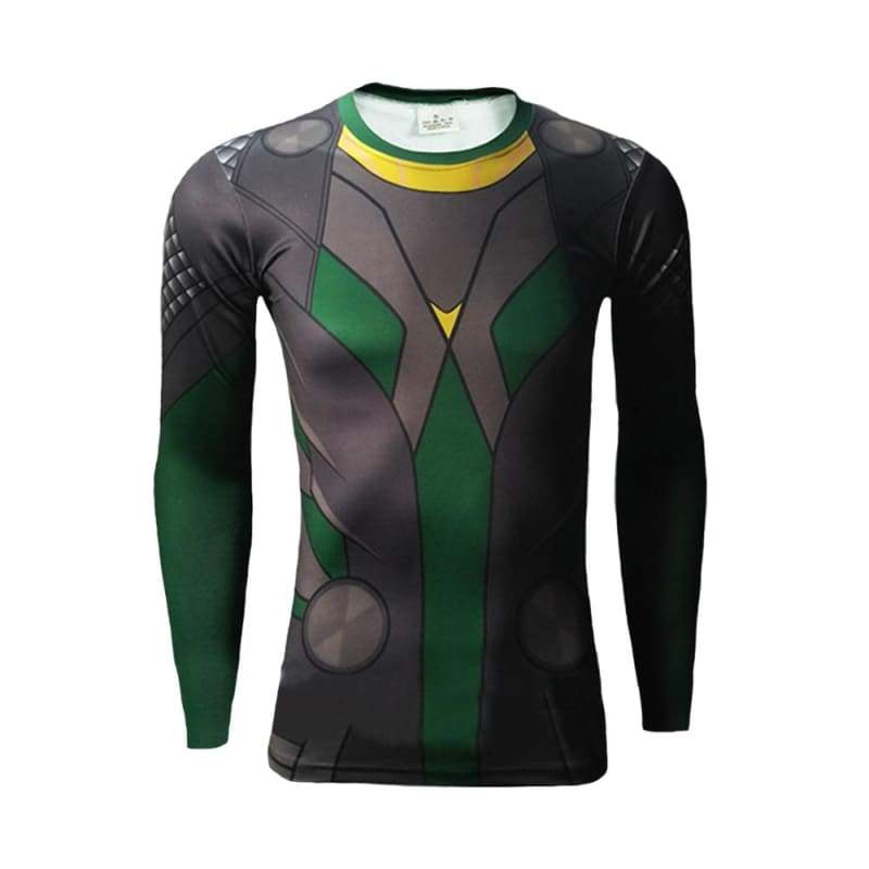 xcoser-de,Xcoser Thor Loki T-shirt Movie Cosplay Halloween Costume,T-shirts