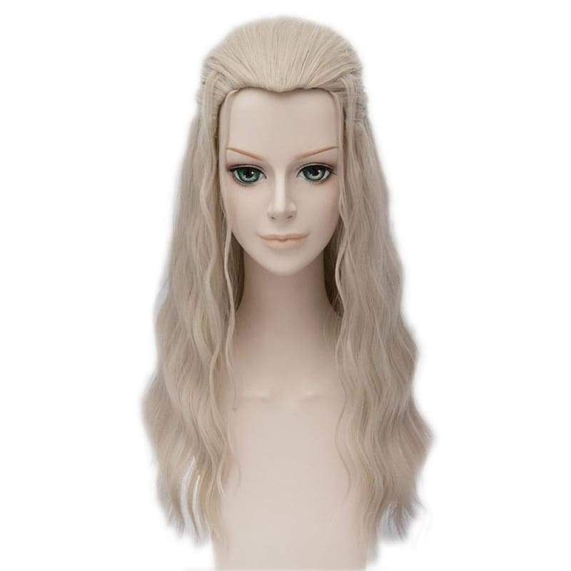 xcoser-de,Xcoser Thor Wig The Avengers Cosplay Adult Thor Long Brown Wig,Wigs