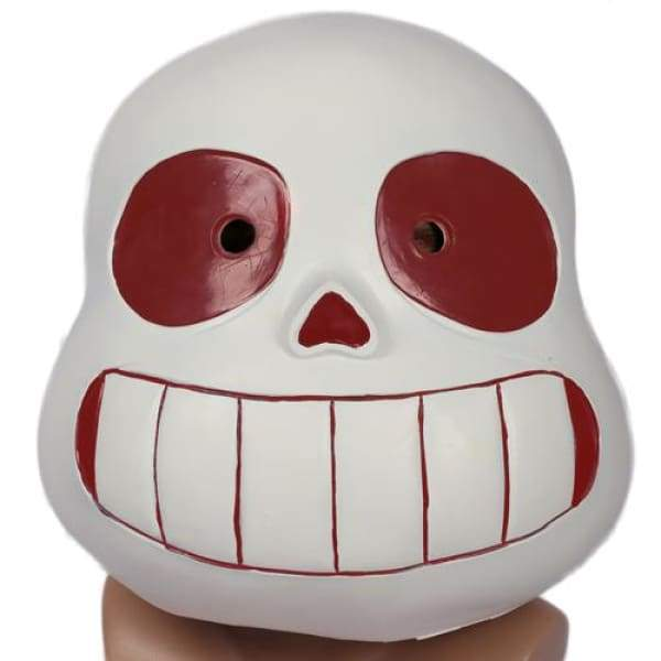 xcoser-de,Xcoser Undertale Sans Cosplay Helmet Latex Full Head Helmet for Child(Only For the United States),Helmet