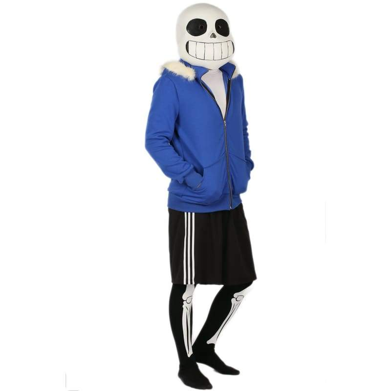 xcoser-de,Xcoser Undertale Sans Costume Polyester Material Full Outfits,Costumes