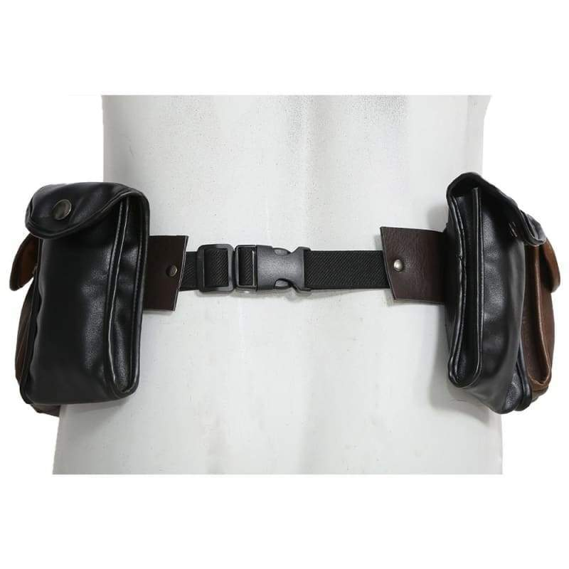 xcoser-de,Xcoser Updated Deadpool PU Belt with 4 Pockets Cosplay Props(Only For the United States),Props
