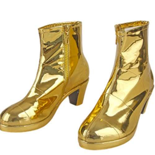 Xcoser wonder Woman 1984 / 2 Boots Diana Prince Golden Eagle Battlegear Cosplay Costume Shoes