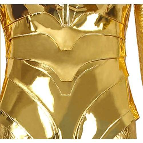 Xcoser wonder Woman 1984 / 2 Diana Prince Golden Eagle Battlegear Cosplay Costume - Costumes 5