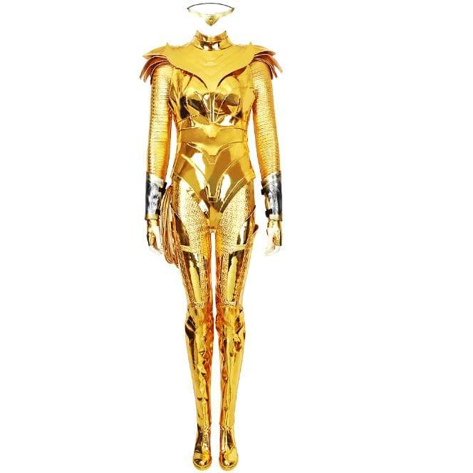 Xcoser wonder Woman 1984 / 2 Diana Prince Golden Eagle Battlegear Cosplay Costume - Costumes