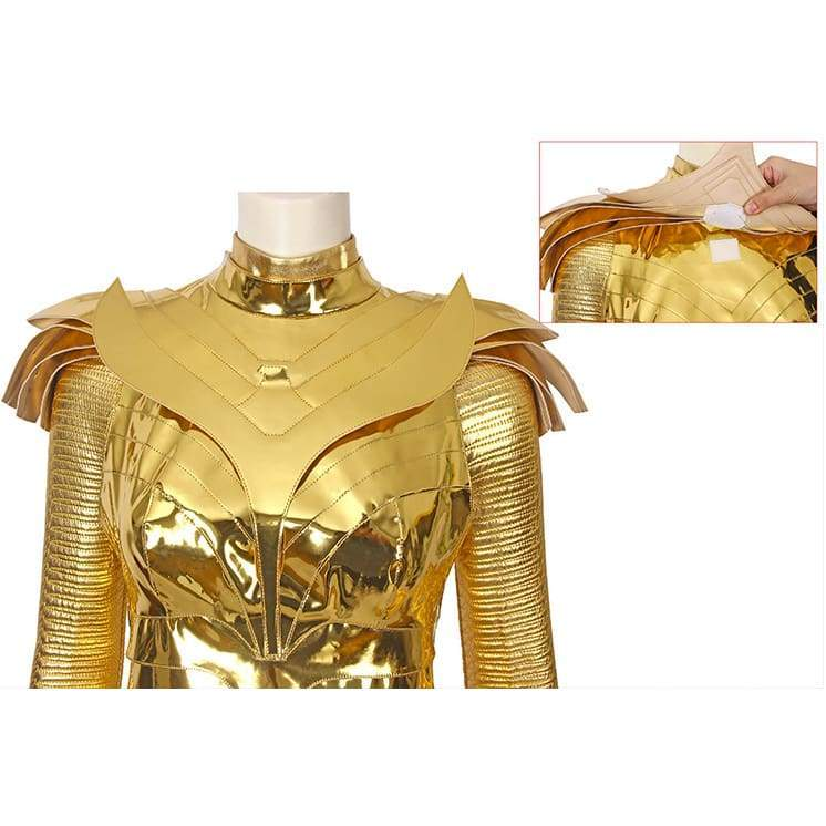 Xcoser wonder Woman 1984 / 2 Diana Prince Golden Eagle Battlegear Cosplay Costume - Costumes 4