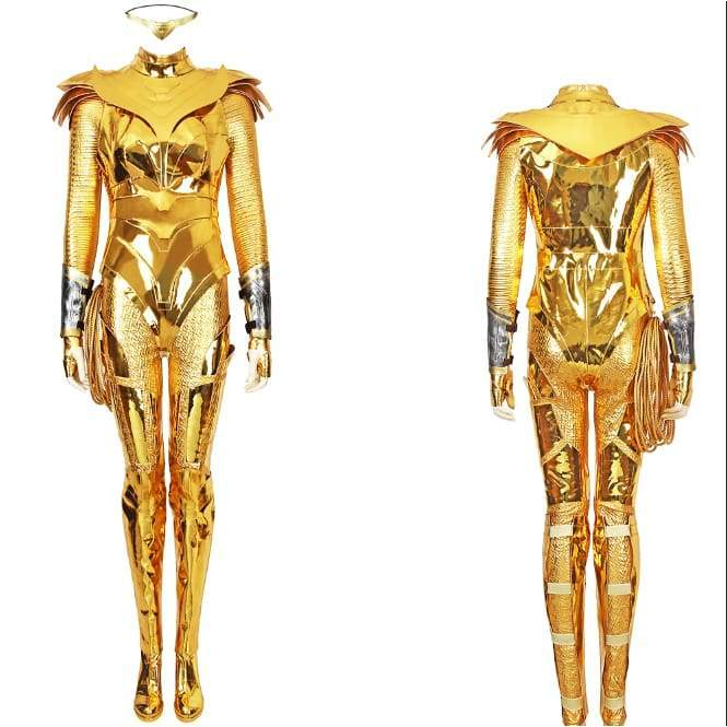 Xcoser wonder Woman 1984 / 2 Diana Prince Golden Eagle Battlegear Cosplay Costume - Costumes 1