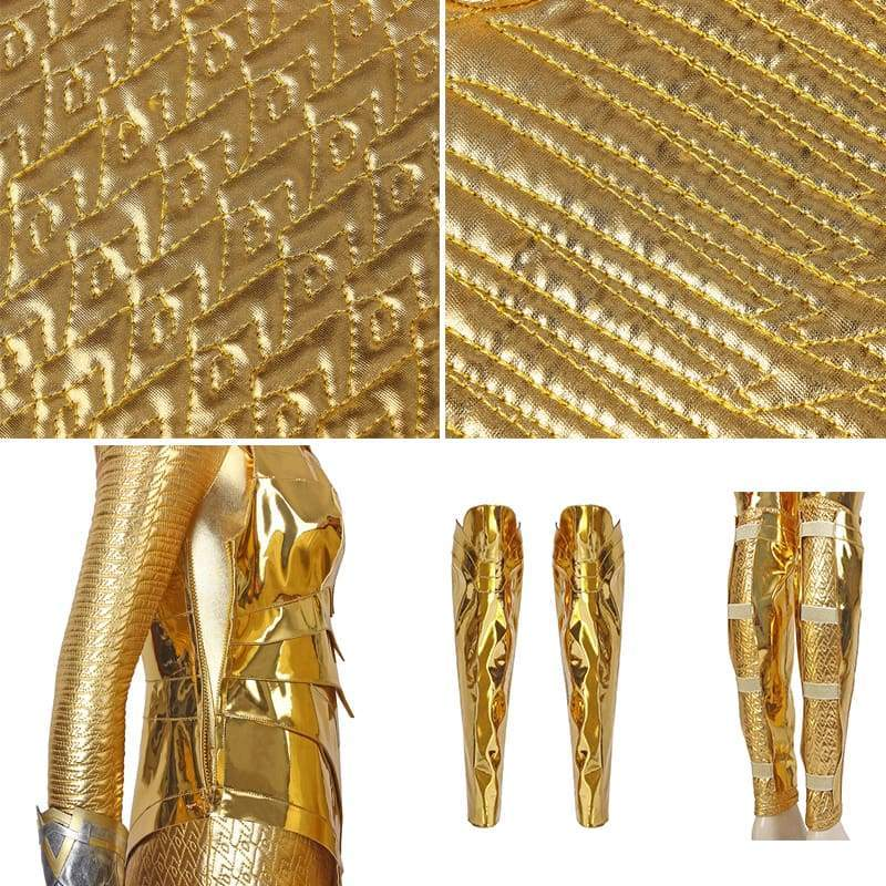 Xcoser wonder Woman 1984 / 2 Diana Prince Golden Eagle Battlegear Cosplay Costume - Costumes 7