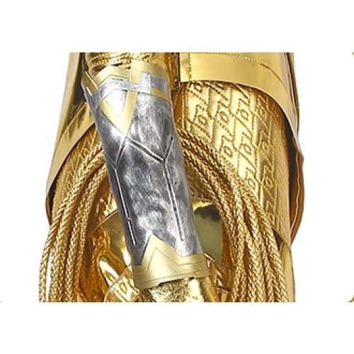 Xcoser wonder Woman 1984 / 2 Diana Prince Golden Eagle Battlegear Cosplay Costume - Costumes 8