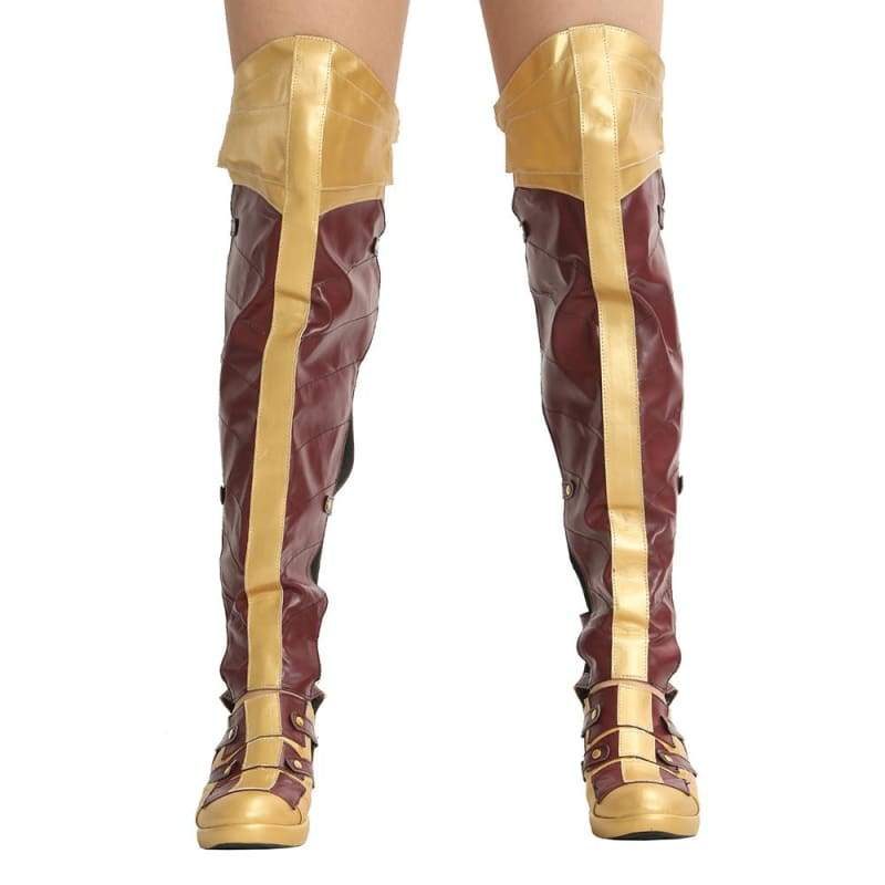 xcoser-de,Xcoser Wonder Woman Boots Cosplay Shoes Sale,Boots