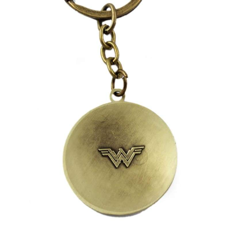 xcoser-de,Xcoser Wonder Woman Stainless Steel Shield Keychain Cosplay Accessories,Jewelry