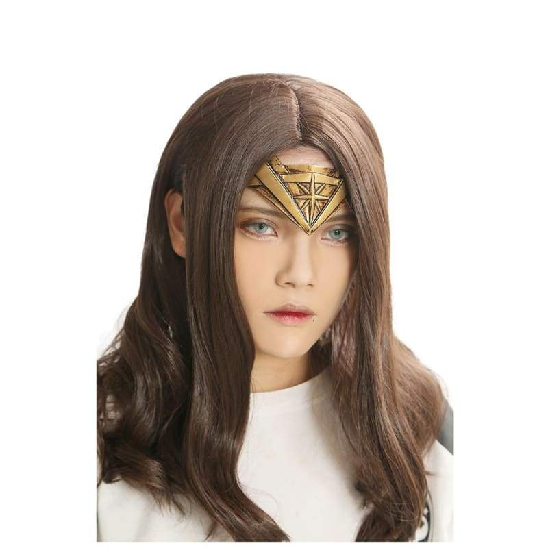 xcoser-de,Xcoser Wonder Woman Wig Headband for Cosplay,Wigs